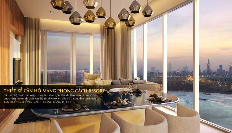 Diamond Island Luxury Apartment