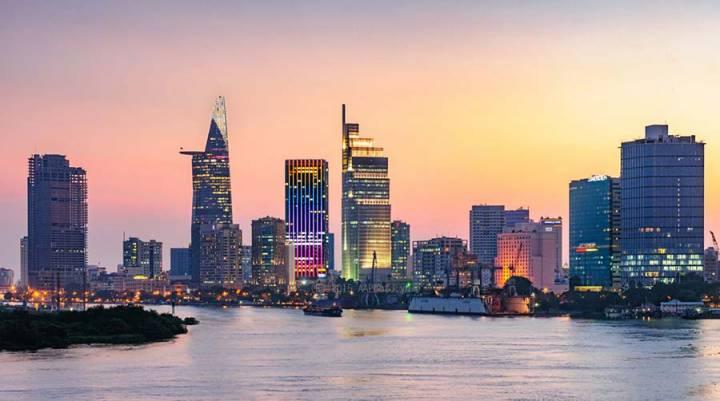 river Saigon Melinh tower