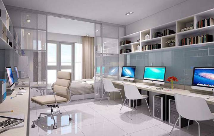 Office-tel apartment