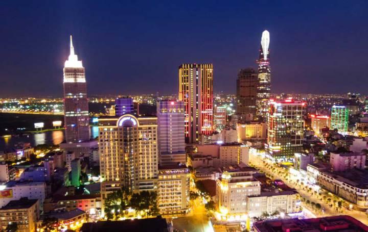 The real estate market in saigon