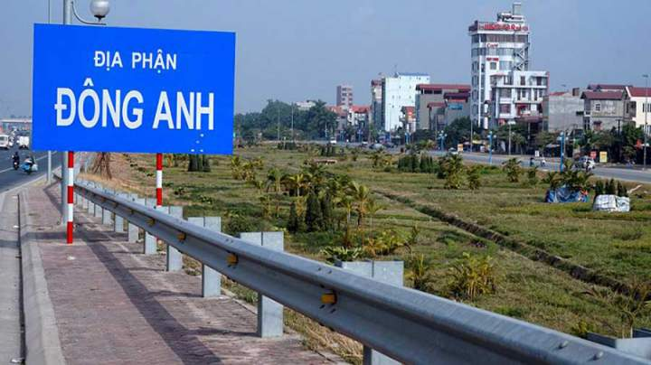 land in Dong Anh