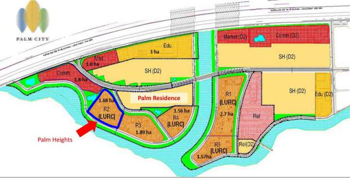 Palm City Keppel Land