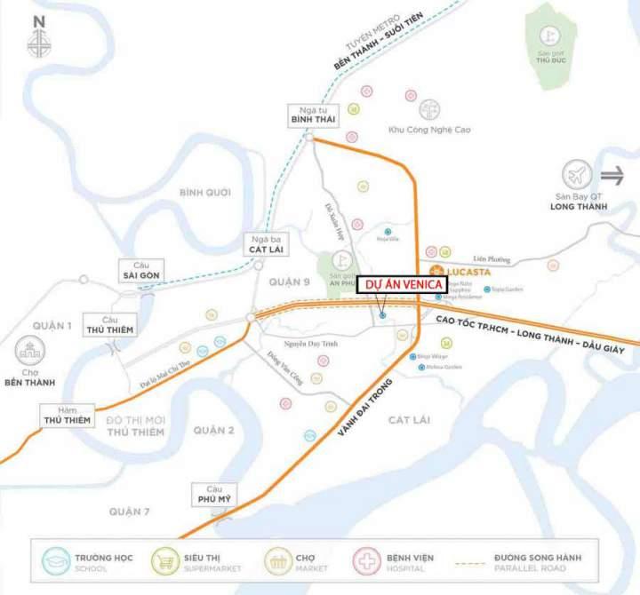 Venica Khang Dien villa project
