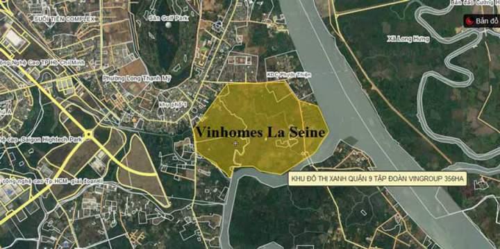 Vinhomes La Seine project