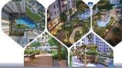 green living space in Jamila Khang Dien