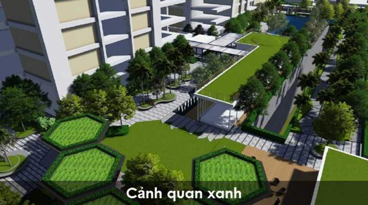 green living space of Vista Verde