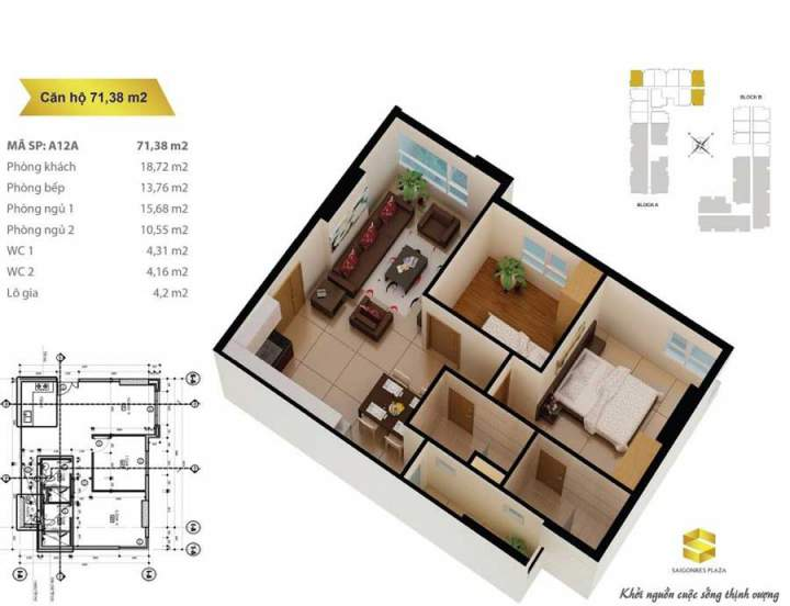 Saigonres Plaza apartment