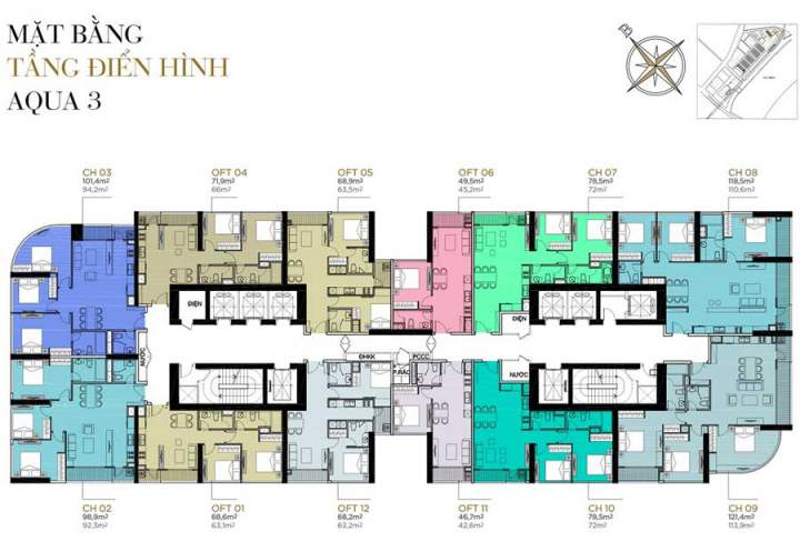 Aqua 3 Vinhomes Golden River