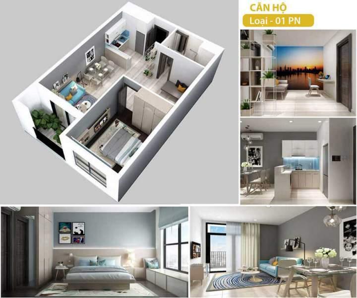 Centrosa Garden Apartment in District 10