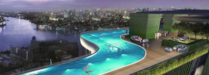 D Edge Capitaland Thao Dien apartment project
