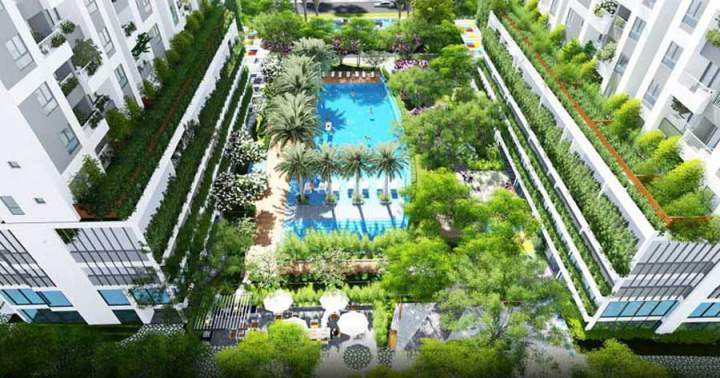 District 7 Apartment Lux Garden only cost from VND23 million / sqm