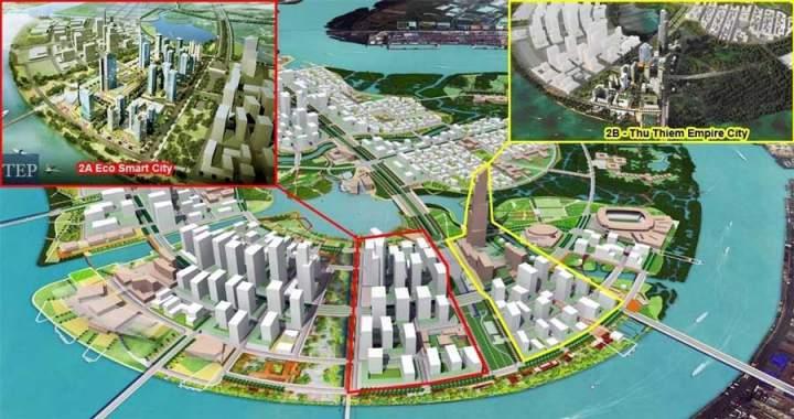 Empire City in Thu Thiem