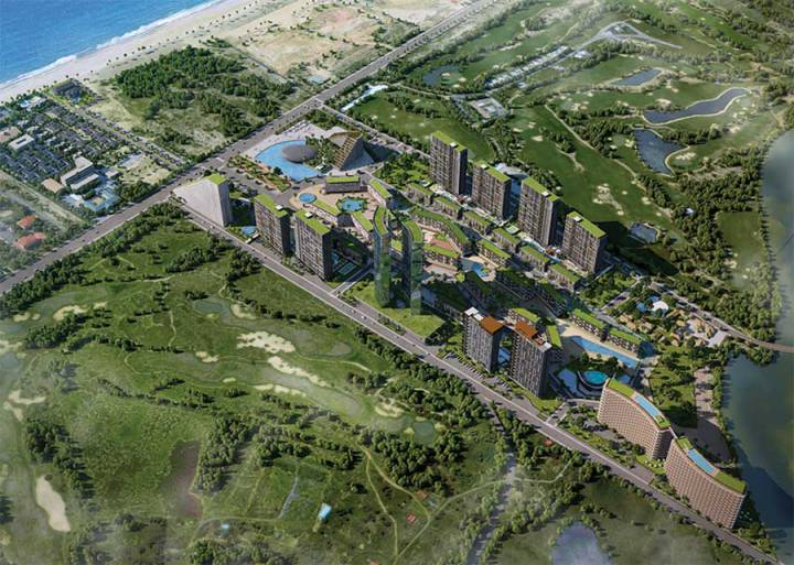 Da Nang real estate market has a clear demarcation of the area.
