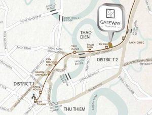 Gateway Thao Dien apartment