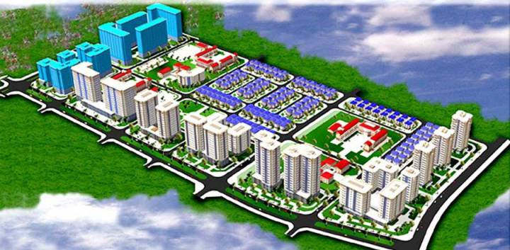 Hoang Van Thu new urban area
