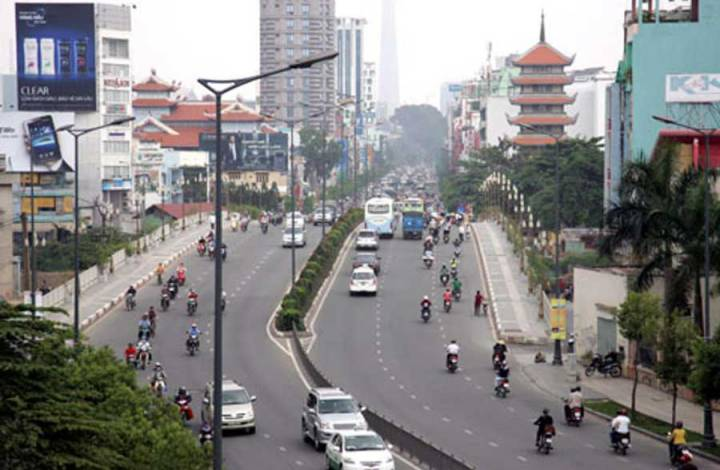 The most expensive land route in HCMC