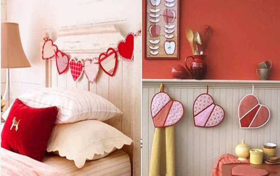 5 Great Ways To Decorate Your House Is More Romatic On Valentine's Day