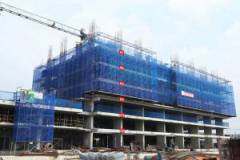 The project is located along Metro - Ben Thanh