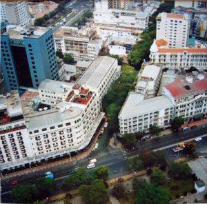 square in Thu Thiem