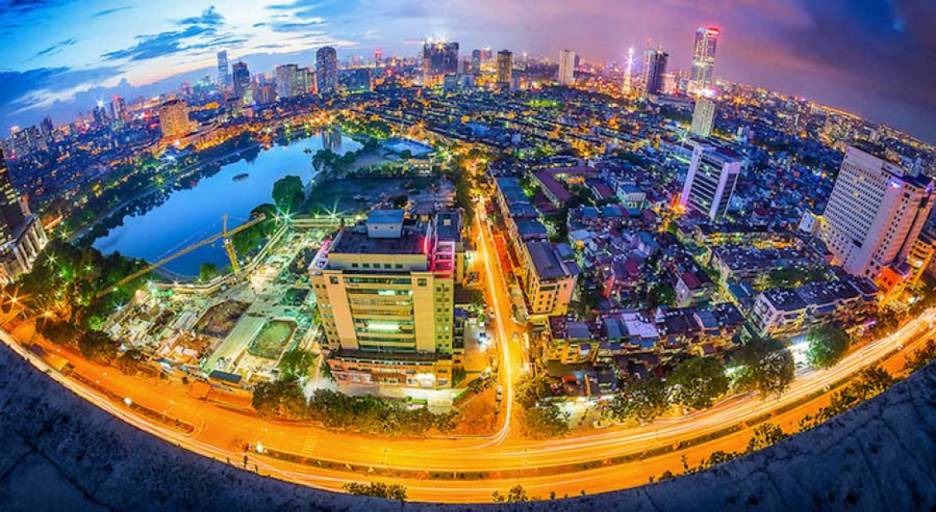 Prices of land in Saigon and Hanoi increased