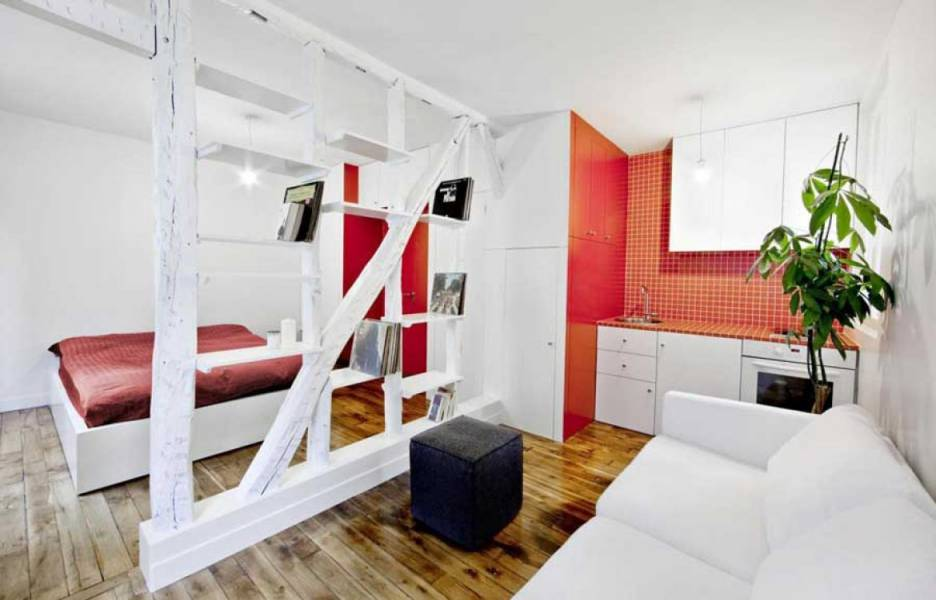 Small cute apartment for the couple