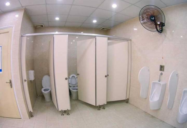 Toilet space