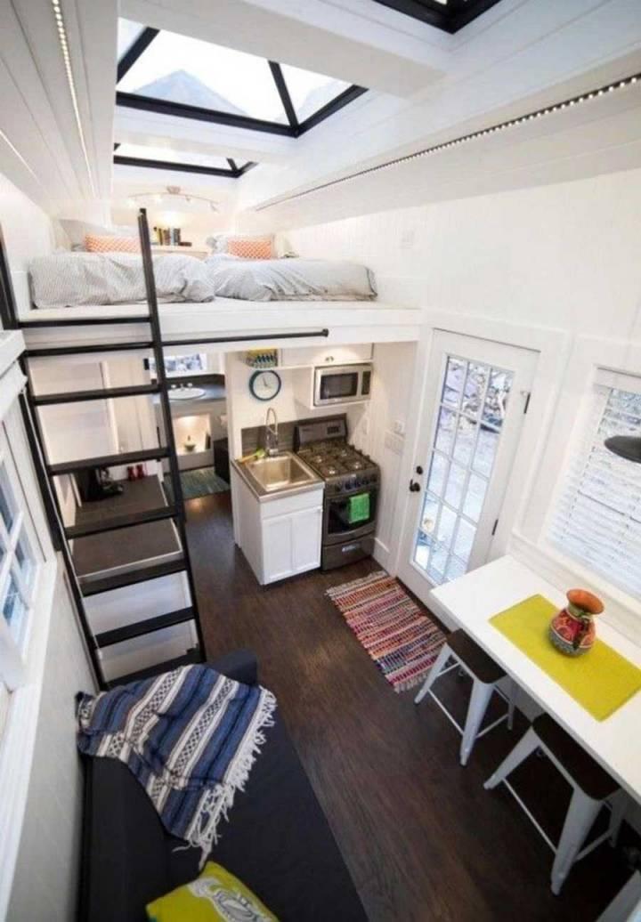 Model home super-small, super nice