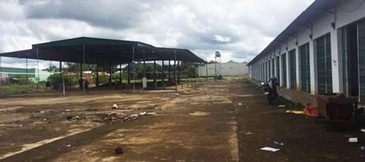 abandoned market