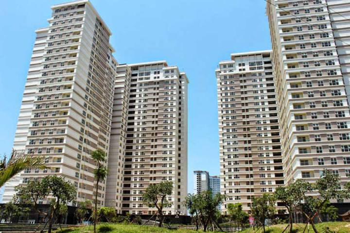 Linh Dam apartment