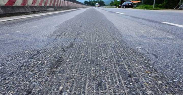 Ripples on the trillion national highway last more than a hundred meters.