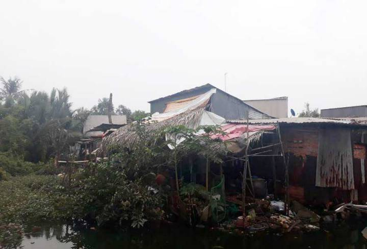 The case of land encroachment in Bac Phuoc Kien - Nha Be residential area