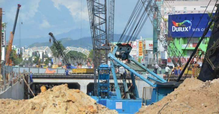 3-floor overpass in Da Nang