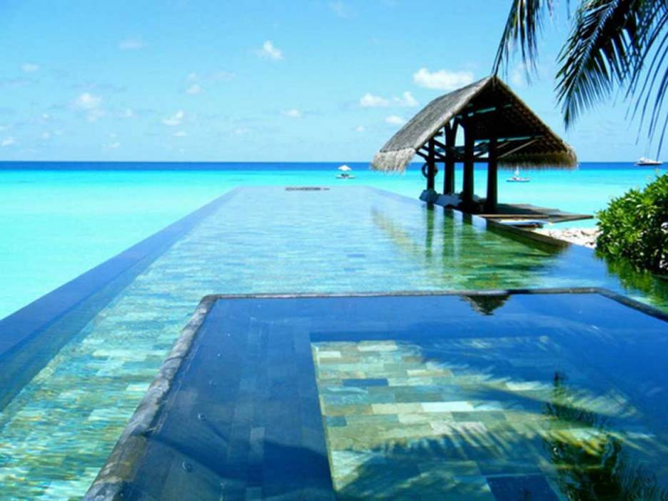 Infinity pool of the project