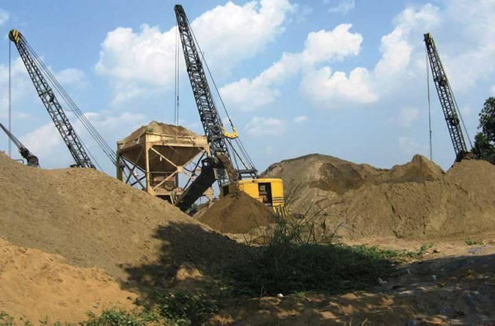 Risk of severe sand shortage