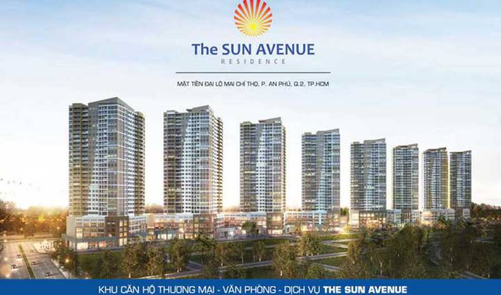 The location of The Sun Avenue project