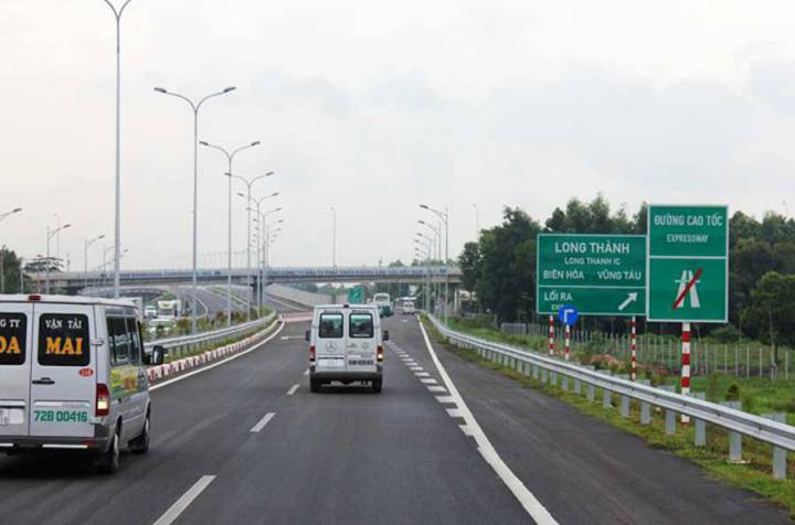 Ho Chi Minh City - Long Thanh - Dau Giay expressway