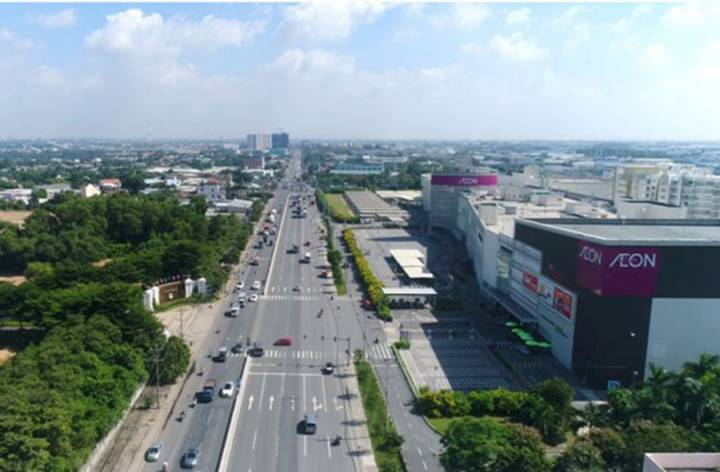 Land in Binh Duong started to increase price