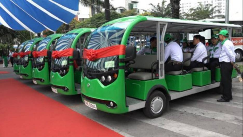 Ho Chi Minh City has pilot three tram routes to the sightseeing