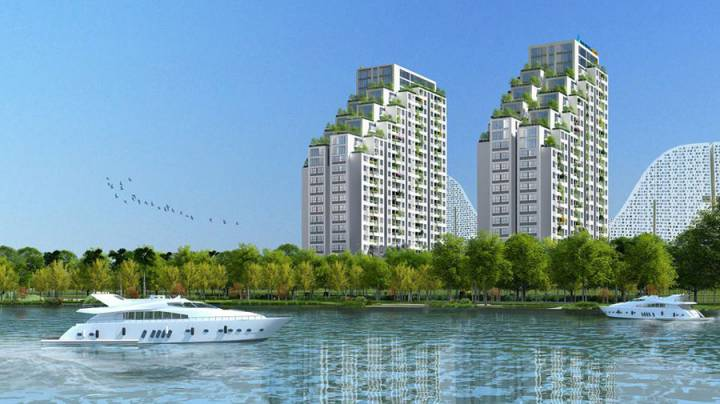 real estate market of South Saigon