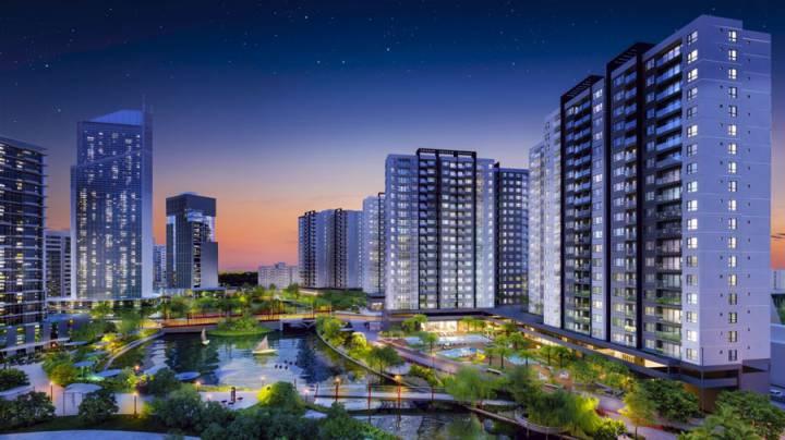 Mizuki Park urban area