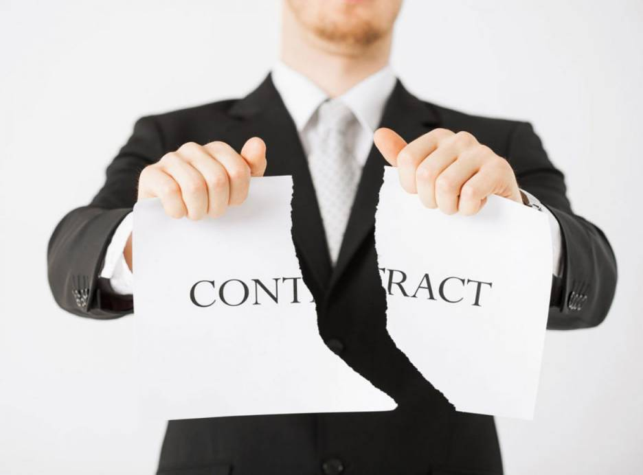 Unilateral termination of the contract