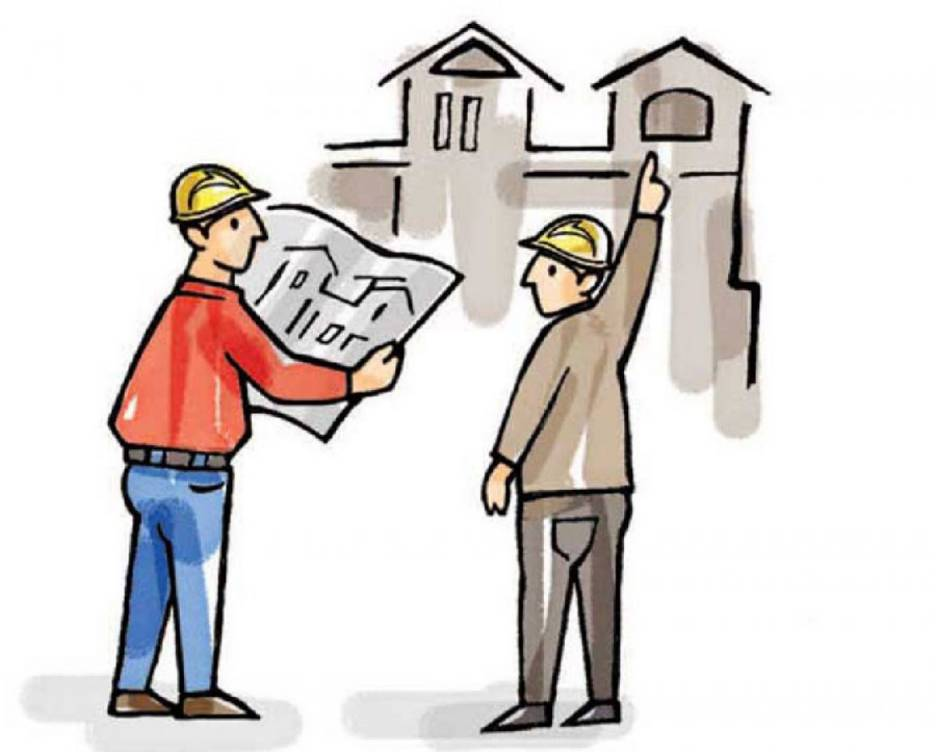 repair and building house