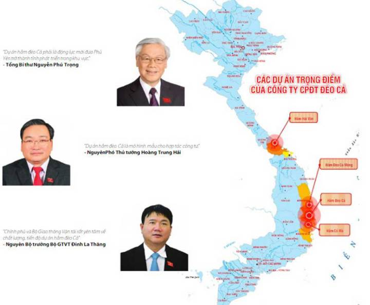 The largest road tunnel investor in Vietnam