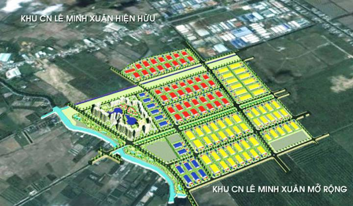 Le Minh Xuan industrial in Binh Chanh