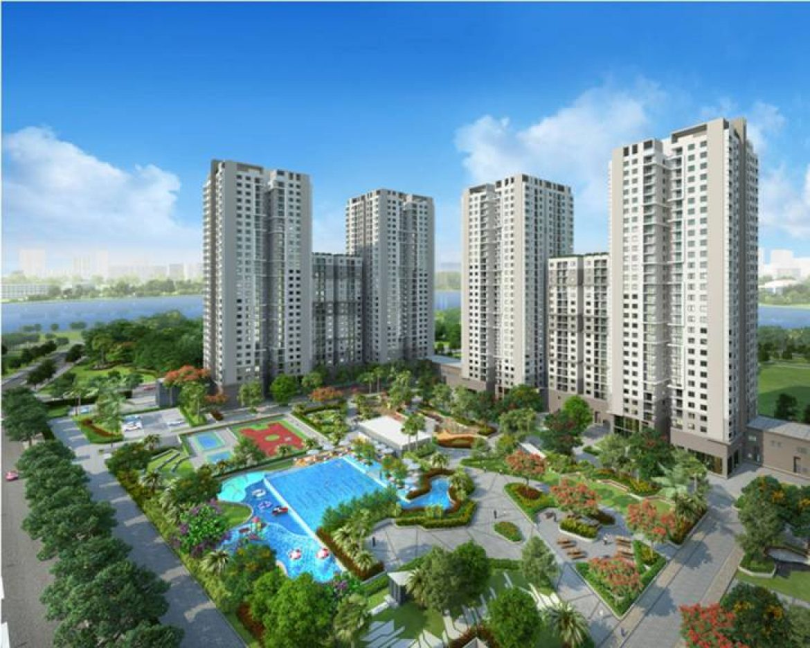 Saigon South Residences project