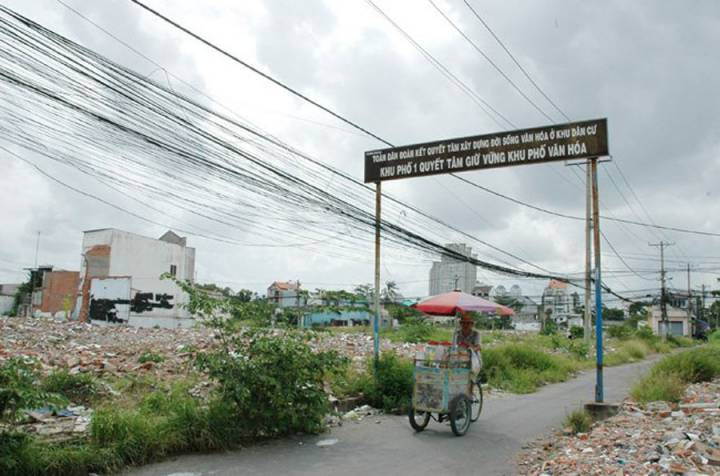 Ho Chi Minh City will recall more than 7,000ha land in 2017