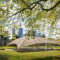 The Super-Beautiful House Is Made Of Bamboo Of Australia's Millionaire In The Middle Park