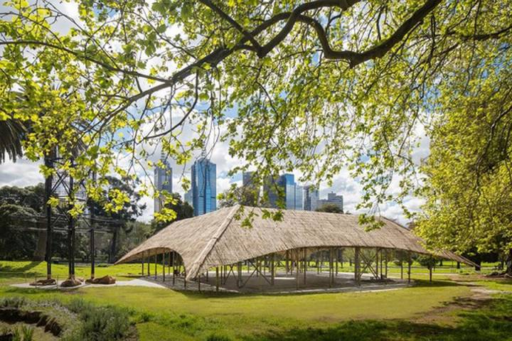 bamboo house in Australia