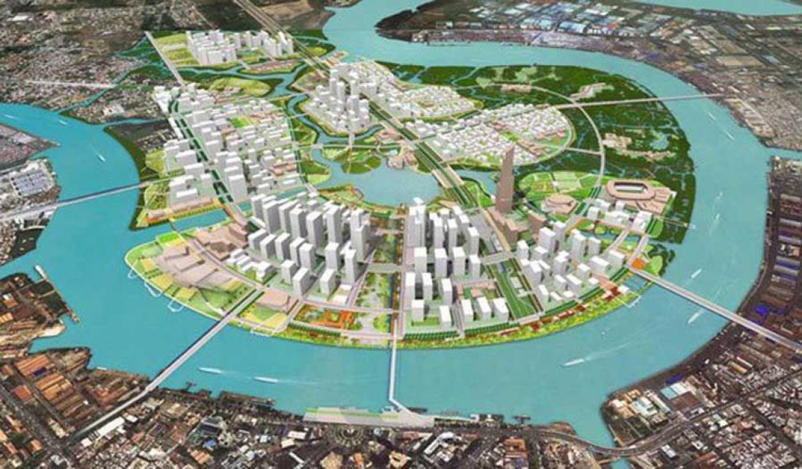 Ho Chi Minh City adjusted the zoning plan in Thu Thiem