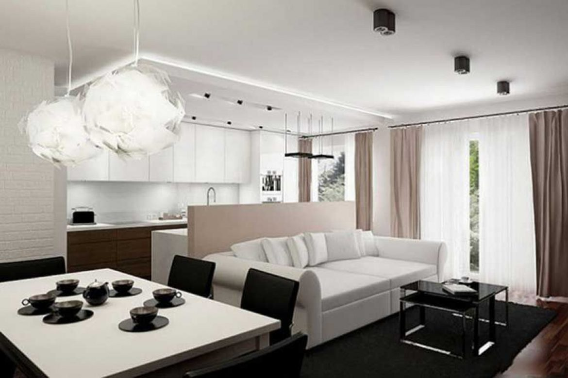 Interior design beautiful and economical
